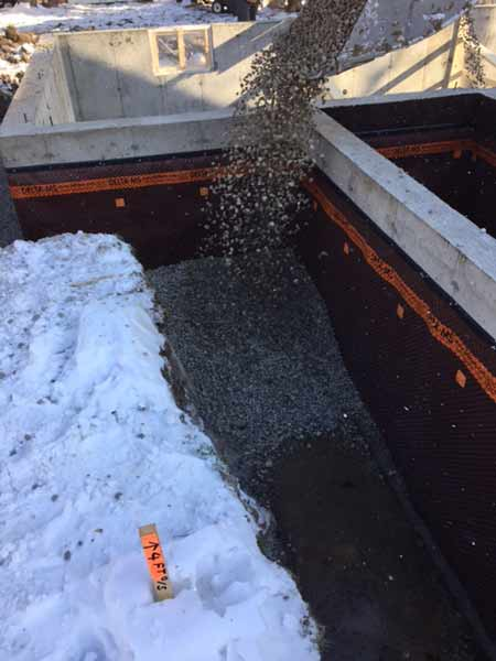 Commercial Foundation Waterproofing - Click image for slideshow