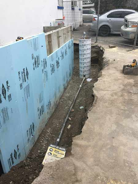 Foundation Waterproofing - Click image for slideshow